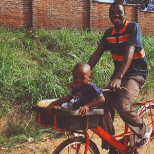 Elephant bike: 'Buy one – and change someone's life'