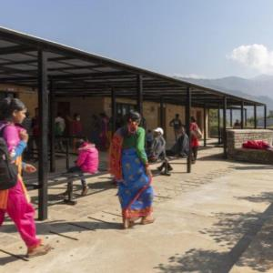 Inspiring rammed earth hospital brings affordable care to rural Nepal
